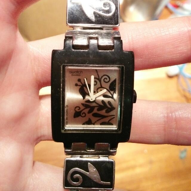 Jam Tangan Swatch (ROSAK TOTAL LOSS)