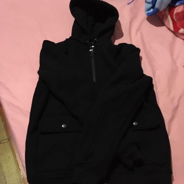Jay Jays Wool Hood Jacket Size S