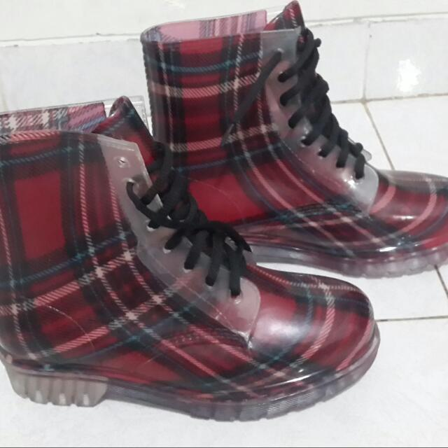 boots-jelly boot-waterproof boot