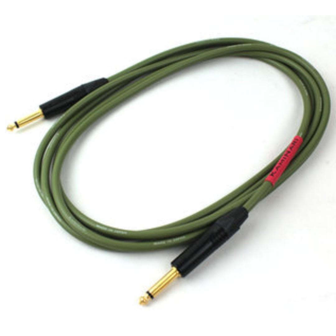 日本KamiNari神鳴手工導線 電貝斯款 3米