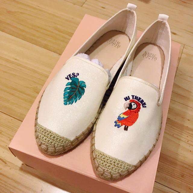 Kate Judith⭐️夏日草編鞋(i.t購入)