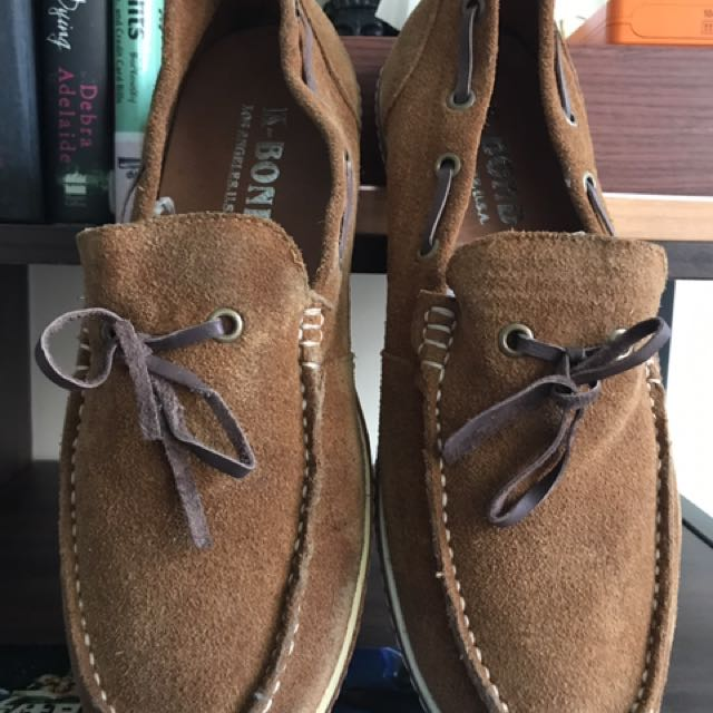 K-Bond U.S soft suade Boat Shoes Size 7.5