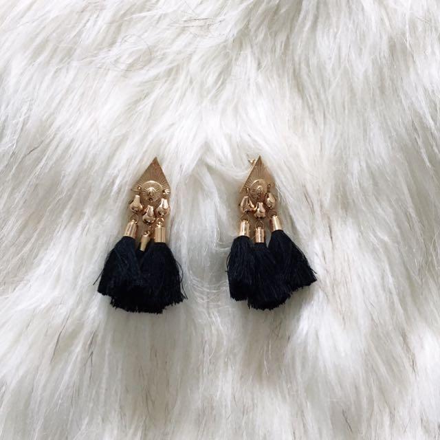 Kookaï Tassel Earrings