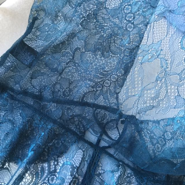 Lace Crop Top - Teal