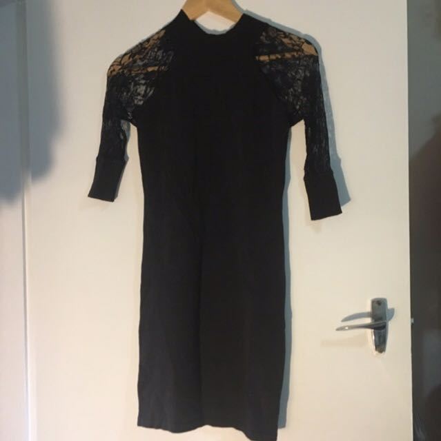 Lace/knit Dress