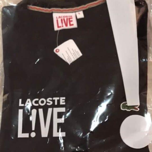 Lacoste V-neck shirt