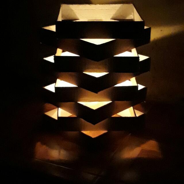 Lampu Taman Atau Tidur Dari Kayu Perabotan Rumah Di Carousell