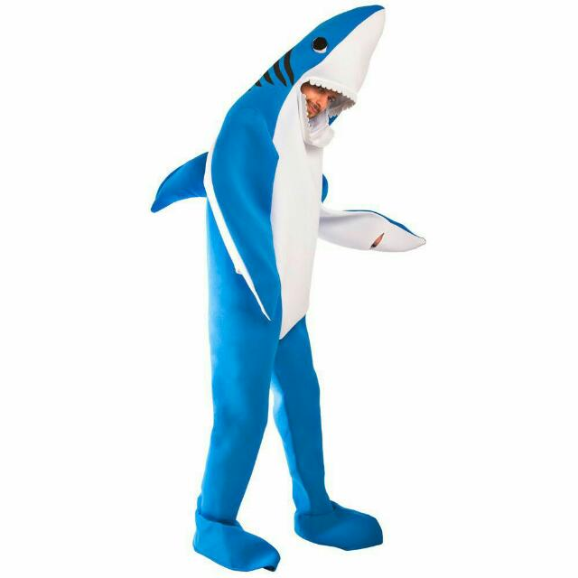 LEFT SHARK COSTUME! Katy Perry Super Ball 2015
