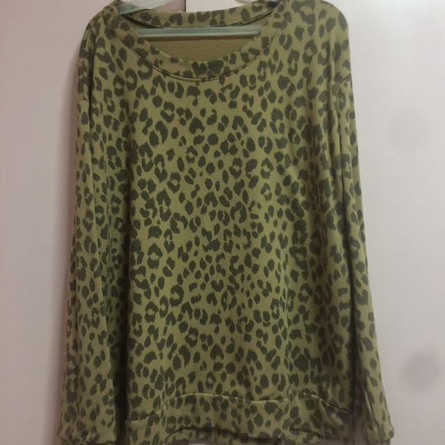 Leopard long sleev