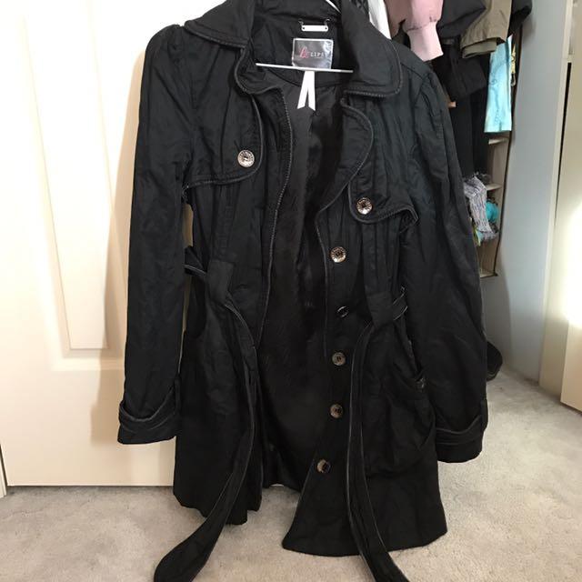 Lipsy Coat Myer Black
