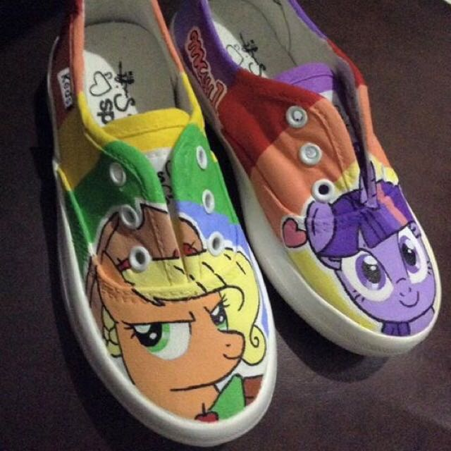 Little Ponnies Hand Painted Shoes