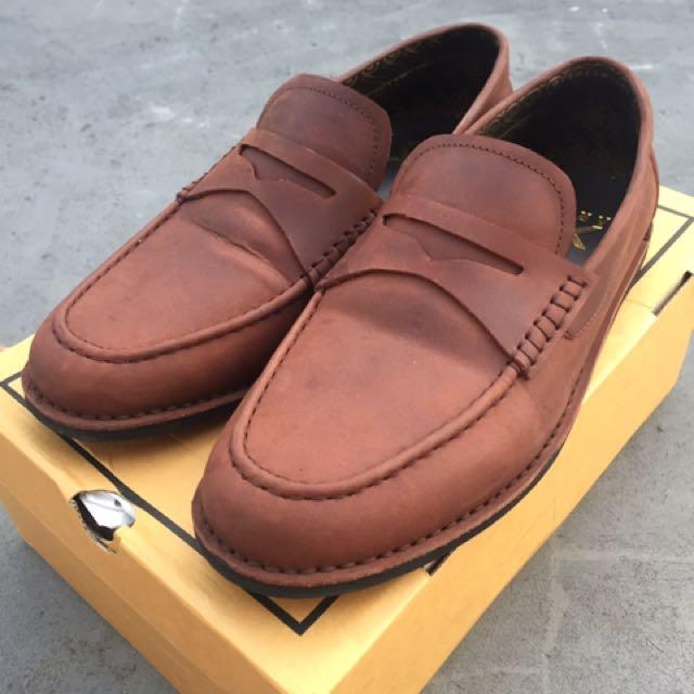 Loafers Vintage Maroon