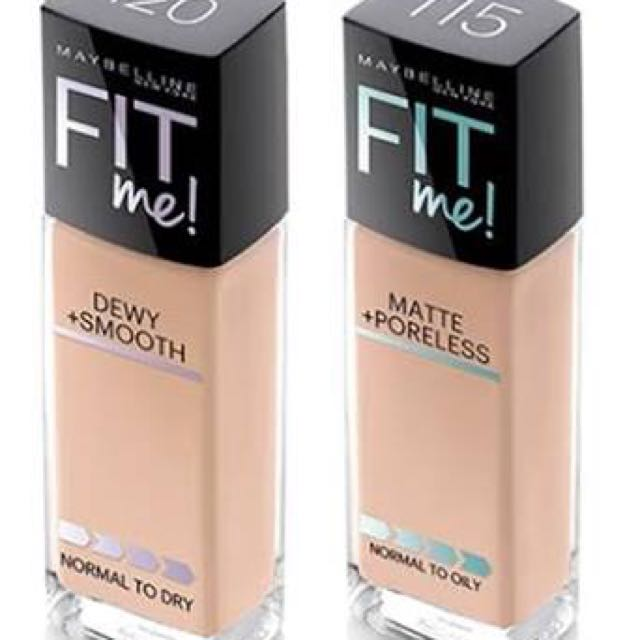 Maybelline Fit Me Dewy Smooth Foundation