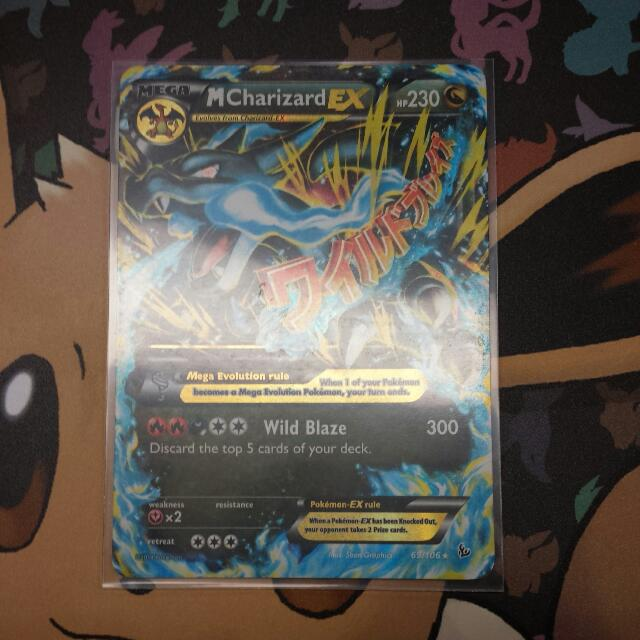 Mega Charizard EX Ultra Rare - (69/106) - XY Flashfire