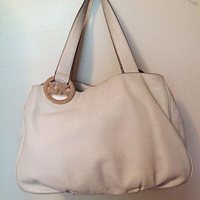 Michael Kors Ivory Bag