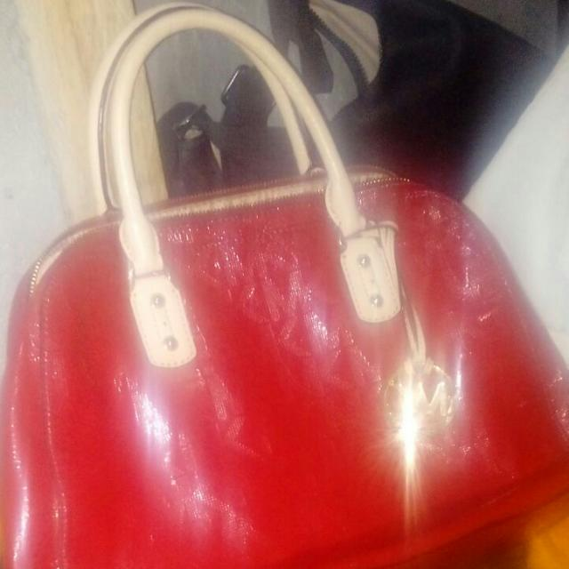 Michael Kors Purse Bag Red Poshmark
