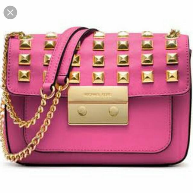 Michael Kors Small Sloan Studded Bag