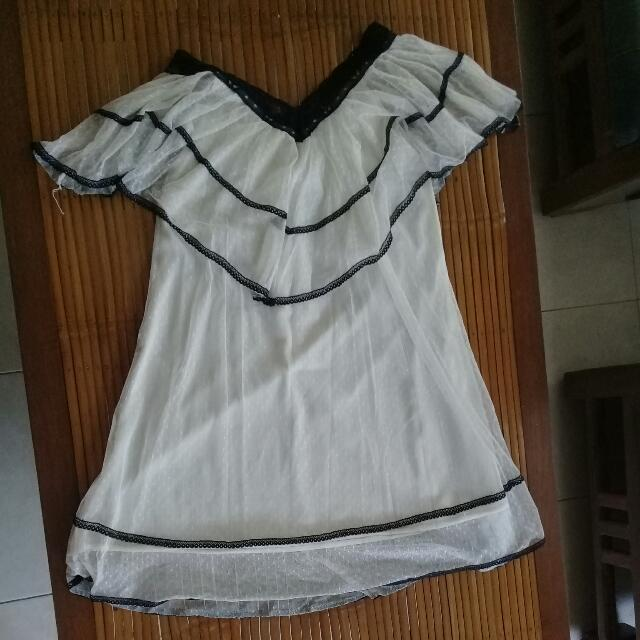 Mini Lace A-line Dress