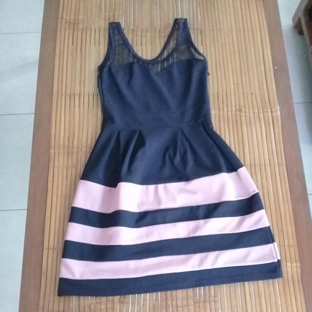 Mini See through Dress