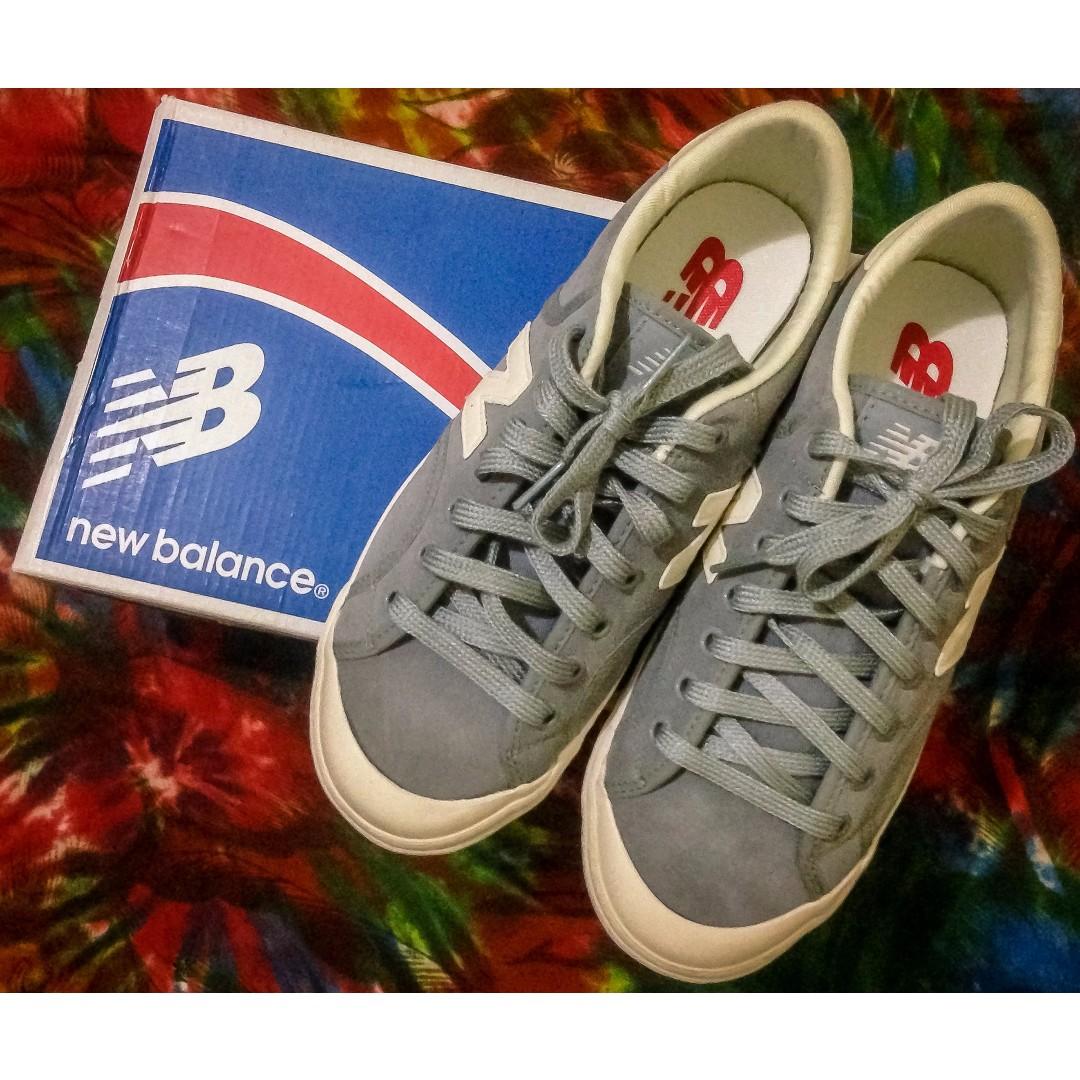 REPRICE! (NEW) New Balance Pro Court Grey White ORI ca76d765b6