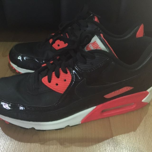 buy popular 92902 6fc14 Nike Air Max 90 Croc Infrared, Men s Fashion, Footwear on Carousell