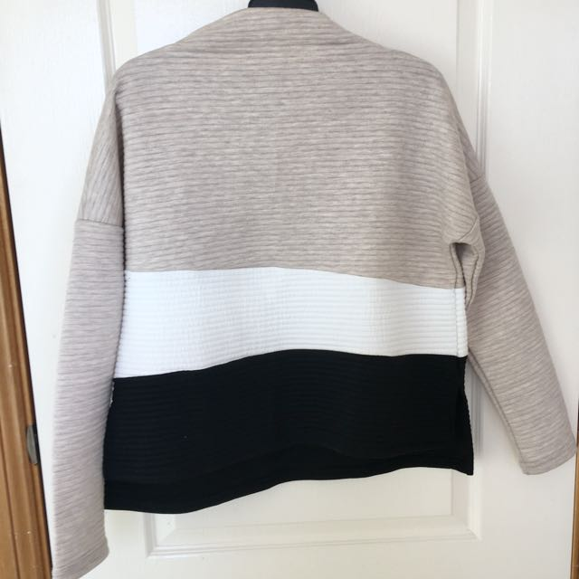 Oversized Mock-turtleneck Sweater
