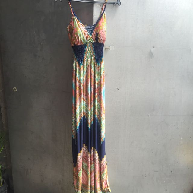 Padded Maxi Dress