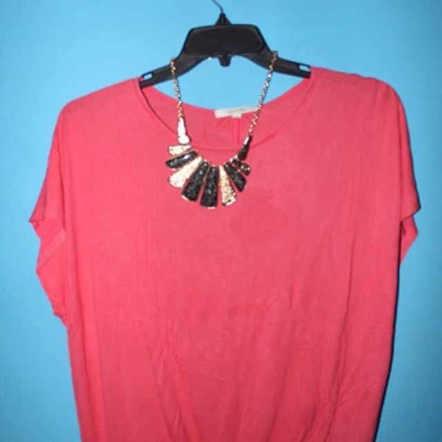 Pink Blouse By DETAILS