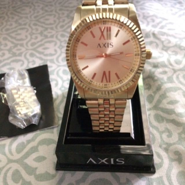 Repriced!!! Axis Gold Watch
