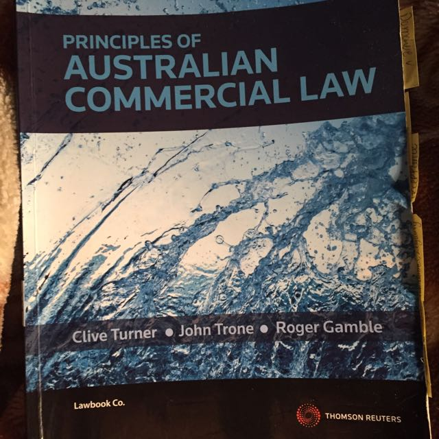 Principles Of Australian Commercial Law Textbook