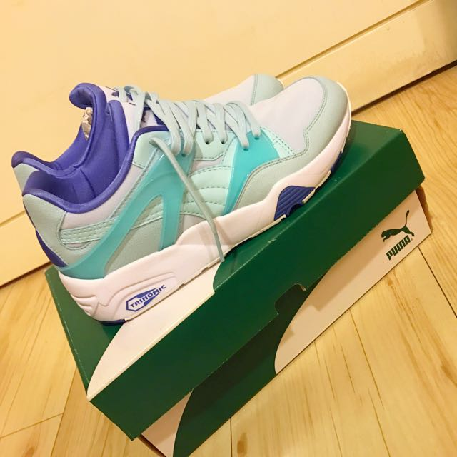 PUMA 馬卡龍藍綠色慢跑運動鞋👟