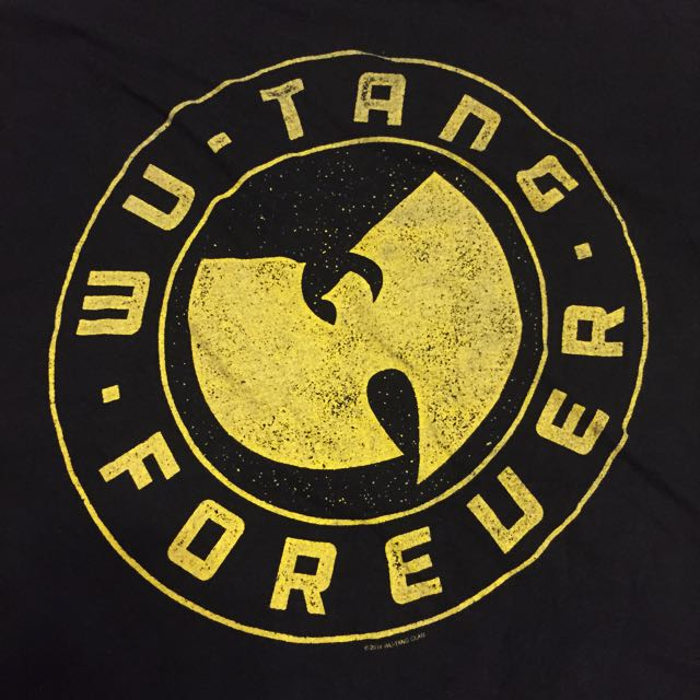Rare Wutang Forever Tee Sz L