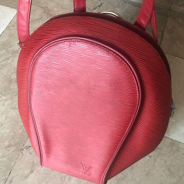 Red Class A Loius Vuitton Backpack