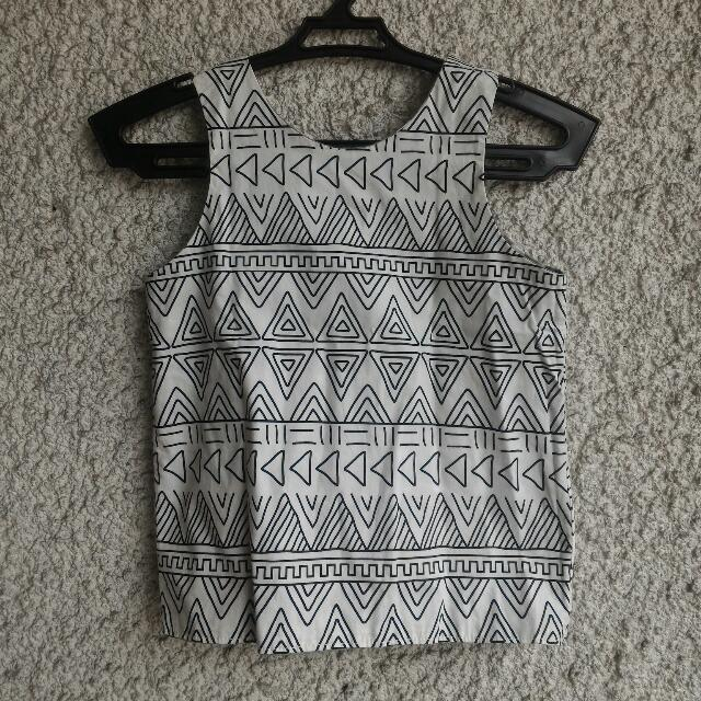 Reversible Sleeveless Top (4-6 yo)