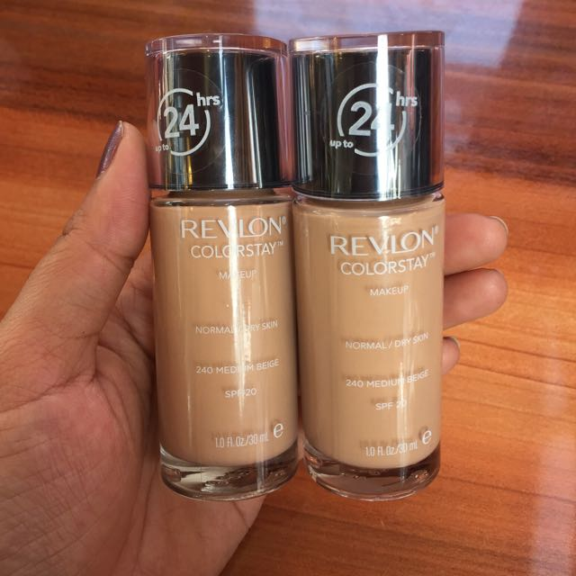 Revlon Colorstay Medium Beige 100% Original