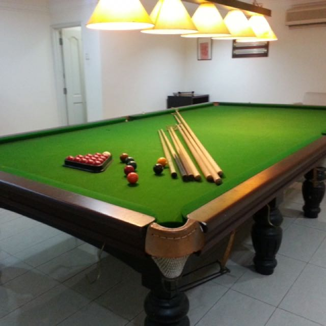 photo photo ... & RILEY Snooker Table Set Home \u0026 Furniture Furniture on Carousell