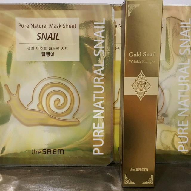 Saem : Gold Snail Wrinkle Plumper