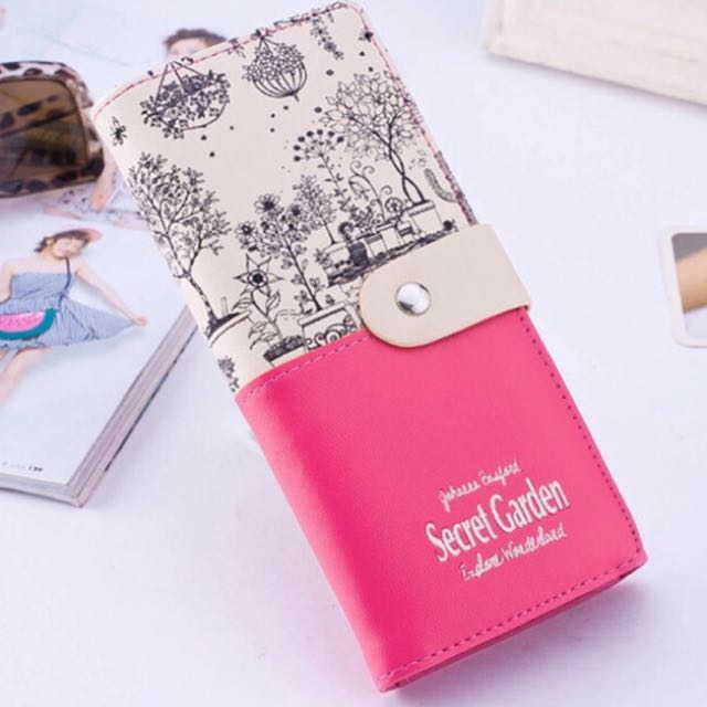 Secret Garden Designer Wallet Long for Women