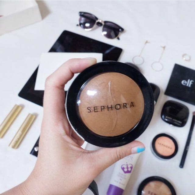 Sephora Baked Face Compact - Shade : Mat Tan