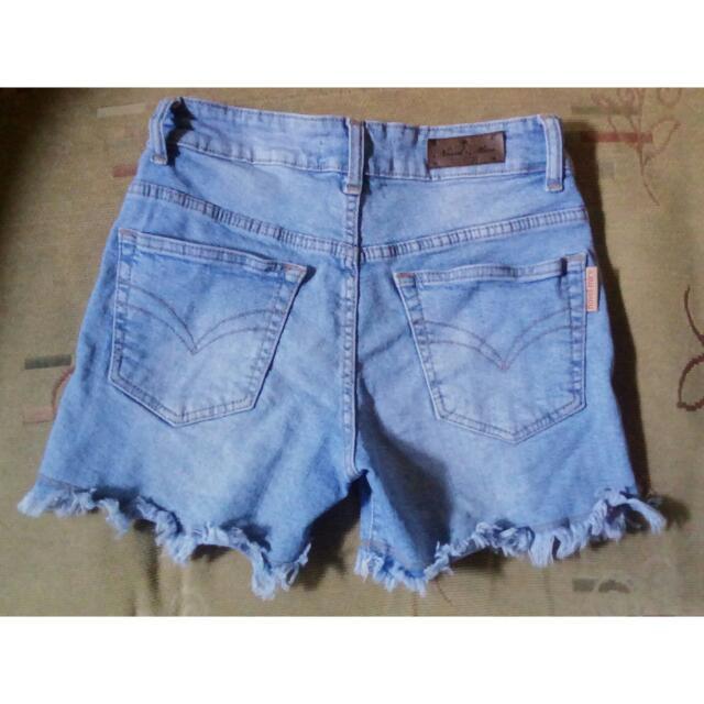 Short / Hot Pants Blue Jeans