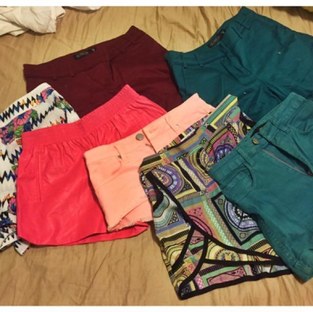 Shorts- Bardot, Glassons Etc