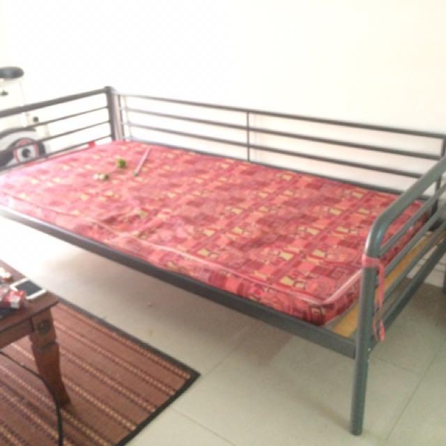Single Bed Katil Bujang Ikea Home