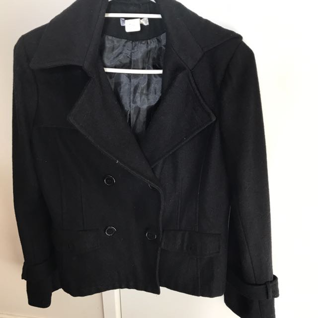 Size 12 On Tag Black Blazer.  Bought And not Used.