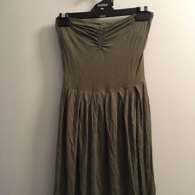 Size 2 Kookai Strapless Dress