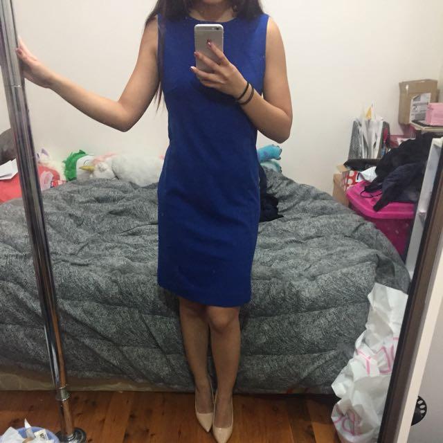 Size XS Uniqlo Blue Dress