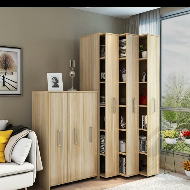 Space Saving Bookshelf Furniture Shelves Drawers On Carousell