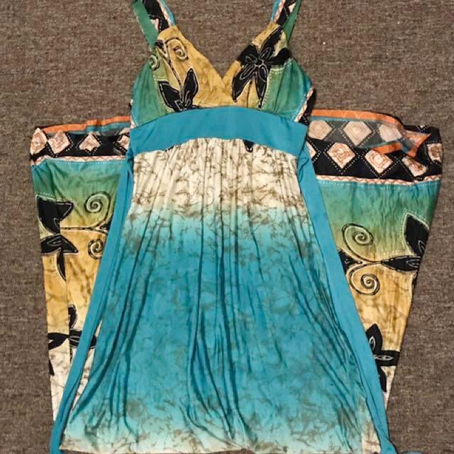 Stunning Vibrant Long Dress