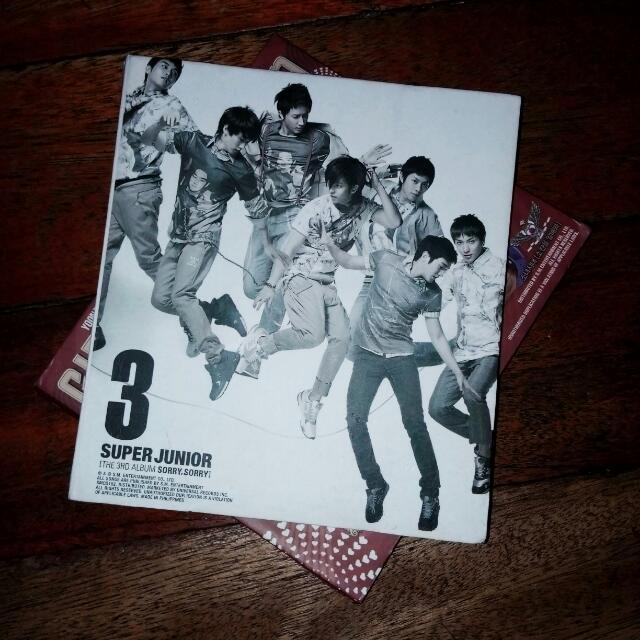 Super Junior 3rd Album