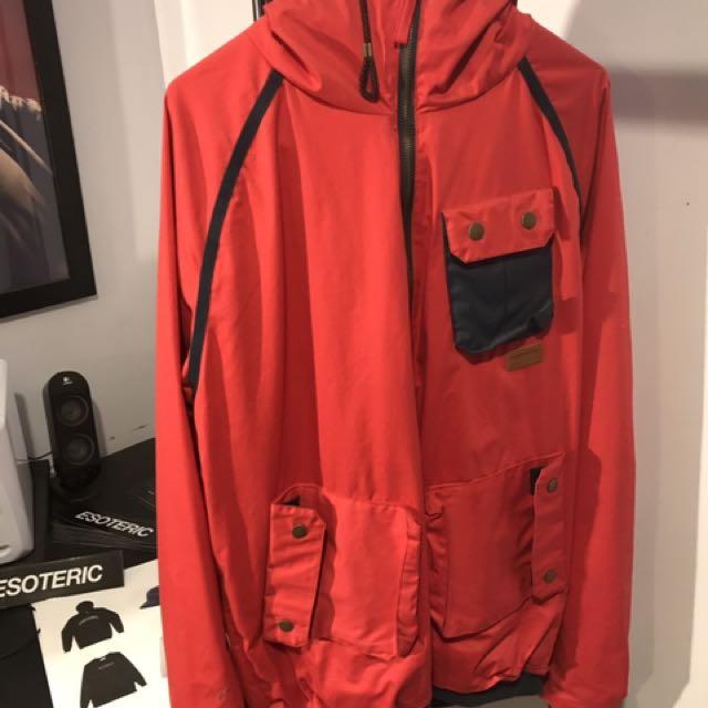 SUPREMEBEING red Jacket