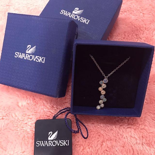 施華洛世奇Swarovski 水晶項鍊、生日禮物